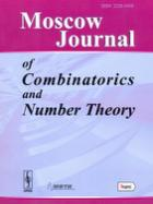 "Moscow Journal of Combinatorics and Number Theory (""����������  ������ �� ������������� � ������ �����"")"